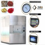 batch type microwave vacuum drying machine