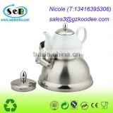 BPA free reusable Stainless Steel Tea Kettle/pot with Copper Capsule Bottom / Ceramic Electronic Kettle/pot