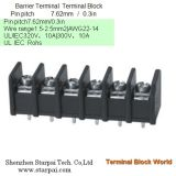 Barrier Terminal Block High Power Automotive Terminal Block Connector/Socket pitch 7.62mm