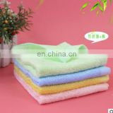2piece/lot High quality Bamboo fiber fabric children baby Square towel saliva towel Face Sweat towel bathroom