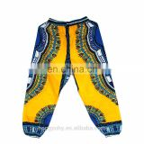 African Dashiki Print Trouser Design women Pants Traditional African Clothing Print Dashiki Fabirc Pants For both Women And Men