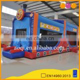 AOQI Best Price Indoor Amusement Sport Game Obstacle Course Inflatable Bounce House