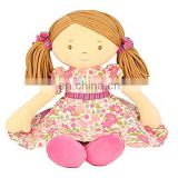 "Annabelle Traditional Rag Doll 24"" fabric cloth rag doll angelina"