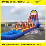 Summer hot products giant inflatable water slide for adults or kids amusement with pool water slide for sale