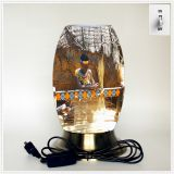 Creative lamp, decorative table lamp, LED desk lamp, South African culture series table lamp (Dzaf016)