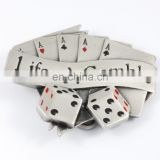 2017 HOT SALE China manufacturers Quality CASINO Silver Belt Buckle