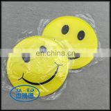 Made in china various style face metal badge