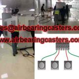 Four air modules air casters for sale