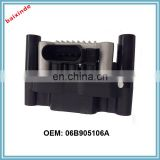 Auto parts Ignition Coil VW Skooda Seeat Leoon Tooledo Octavia Boora Golf IV 1,4 AXP 06B905106A