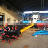 12 inch China coastal dredging equipment cutter suction dredger sand drague.