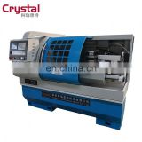 Horizontal CNC Medium Duty Lathe Machine / Large Sized CNC Horizontal Lathe