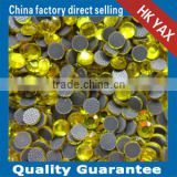 0123L ss6 citrine color YX1009 YAX ROHS LAB store lead free hot fix beads