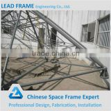 Prefabricated long span steel structure conference hall design