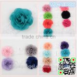 20 colors simple styles baby lace flower Headband colorful Baby lace hairband Christmas Gift children hair accessory MY-AE0006
