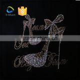 wholesale custom black girls rock rhinestone heat transfers                                                                                                         Supplier's Choice