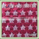 wholesle polyamide mesh embroidery spangle fabric