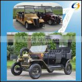 Popular and cheap electric claasical signtseeing tourist car