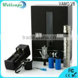 High quality 18350/18650 battery electronic cigarette charger price vamo v8