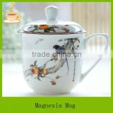 plain white tea mug with high quality, tea cup with lid, ceramic tea cup china wholesale