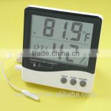 Large LCD Indoor and Outdoor digital thermometer and hygrometer