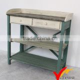 Shabby Farm Antique Wooden Potting Bench and Table                                                                         Quality Choice