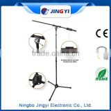 High Quality karaoke microphone stand/adjustable microphone stand parts