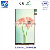 5 inch smartphone lcd screen lcd display panels with 480*854 resolution