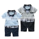 New Fashion High Quality 100% Cotton handsome Infant Baby Clothing Set                                                                         Quality Choice