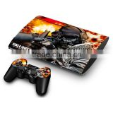 Cool Vinyl Decal Protective Skin Sticker for PS3 slim Console And 2 Dualshock Controllers