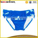 2-8 years kids boys swimming brief shark cute cartoon boys swim trunks                                                                                                         Supplier's Choice