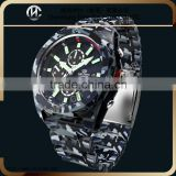 Military Camouflage vintage men's men's luxury watches gold plated gift wrap box for watch