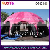 Event inflatable dome tent with wholesale price,cheapest inflatable bubble tent with logo, advertising inflatable tent rental