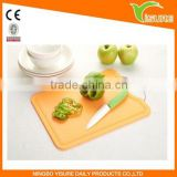 Colorful PP Cutting Board With Metal Hang More Convenient Chopping Board Good Helper For Kitchen