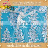 ZP0007-M (12.1)Wholesale latest lace product mesh french embroidery voile lace big lace fabric