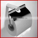 2014 new design high quality brass toilet paper holder stand chrome finished paper holder