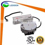 UL LED retrofit kit to direct replace HPS MH HID street light, e40 street light retrofit with 5 years warranty