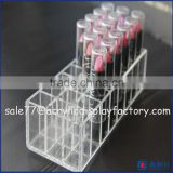 acrylic lipstick holder 60,acrylic rotating lipstick tower,12 lipstick acrylic storage display stand