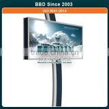 Custom best quality outdoor advertising steel led sign display billboard