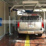 Semi-automatic Touchless Car Wash Machine with water spray, foam and wax