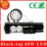 Factory direct t20 single touch 50W Xenon hid White High Power LED Car Head Front Light Lamp Bulb