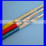 Flexible fiberglass braided tinned copper wire