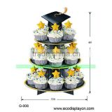 Cap Shape cupcake trees for Speech Day or Graduation                                                                         Quality Choice