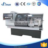 CK6136A-1low cost high precision cnc lathe with automatic bar feeder