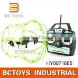 Hot Sky walker 2.4G remote control 4CH wall climbing ufo helium balloon HY0071888