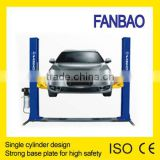 simplex hydraulic floor plate car liftauto lift single cylinder CE approved single cylinder
