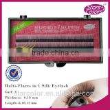 hot sale wholesale individual silk black lashes private label Beauty eyelash extensions