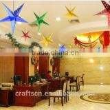 paper star table lamp for home use