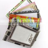 Notebook With Clip Board Sticky Notes And memo pad