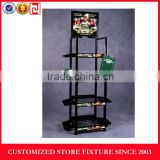 Customized car batteries accessories display stand