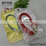 "8.5*16cm(3.35*6.3"")mobile phone accessories packaging bag,earphone packaging bag,Iphone 4s/4 accessories packaging bag"